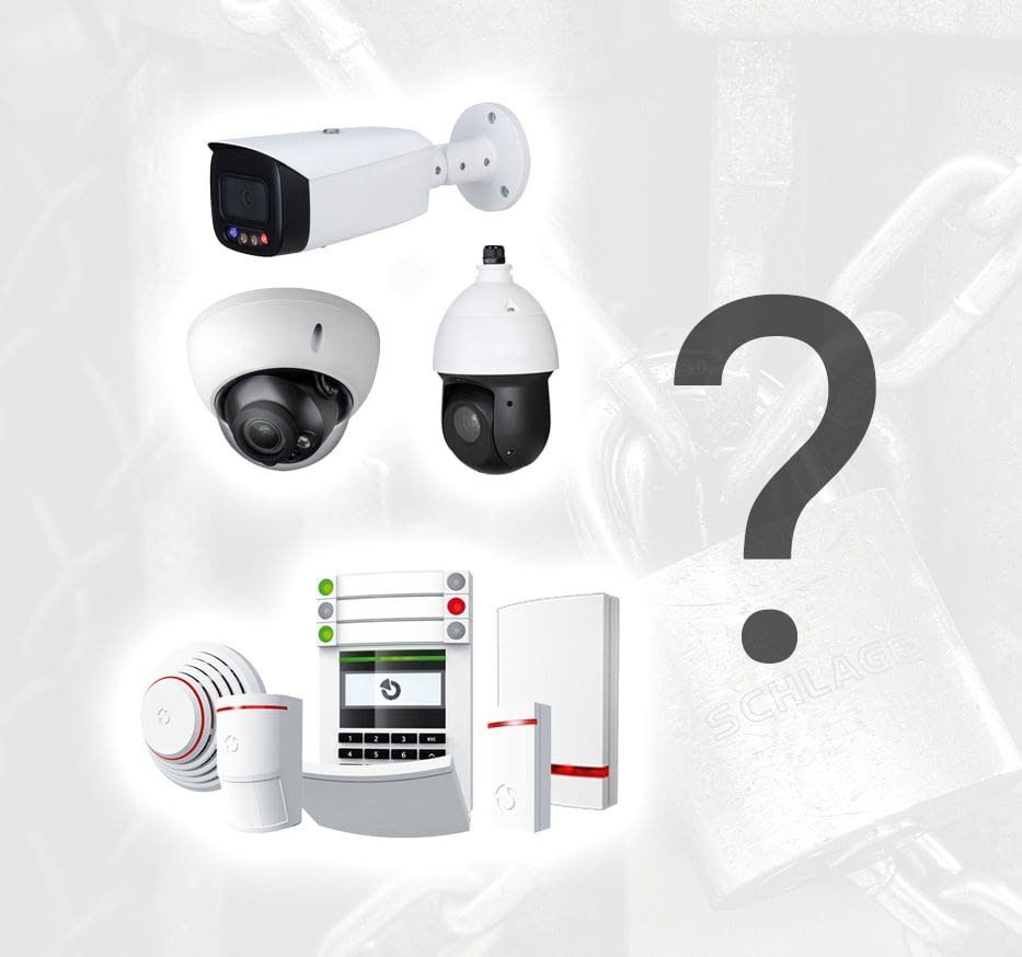 Videoüberwachung und Alarmanlage